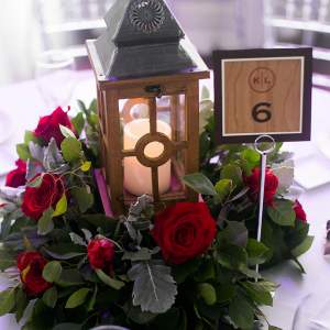 wedding_table_number_sign_layered_wood