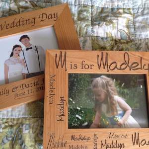 personalized-wooden-etched-picture-frame