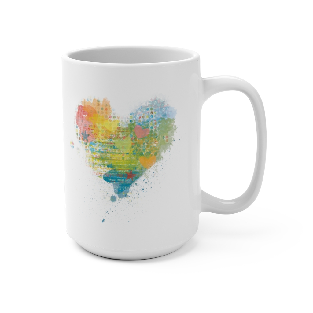 Kaleidoscope Heart Mug | 15oz